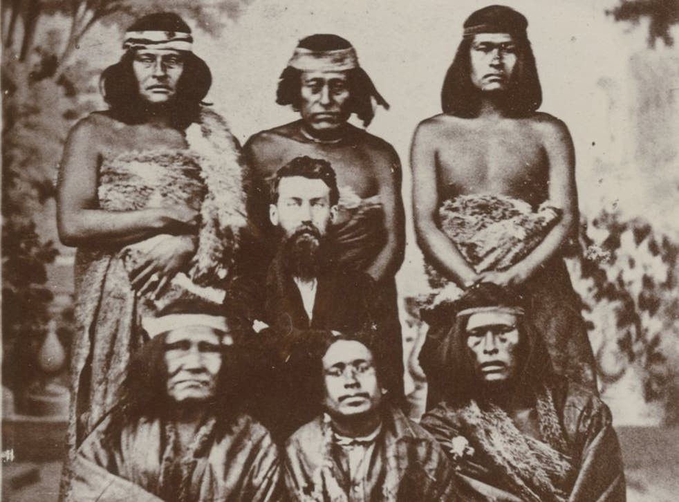 Early settlers in Patagonia