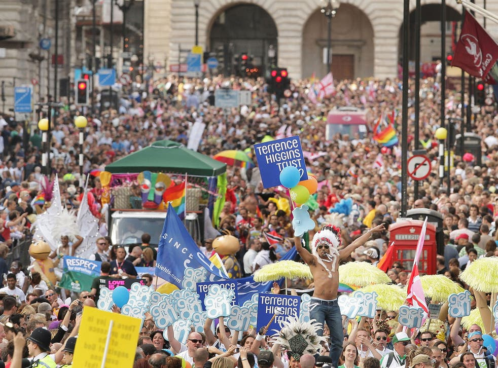 Ukip was refused permission to join the Pride in London parade for 2015
