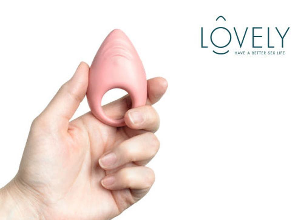 The Lovely, a sex toy that can connect to your mobile phone and provide you with information and suggestions to help improve your sex life.