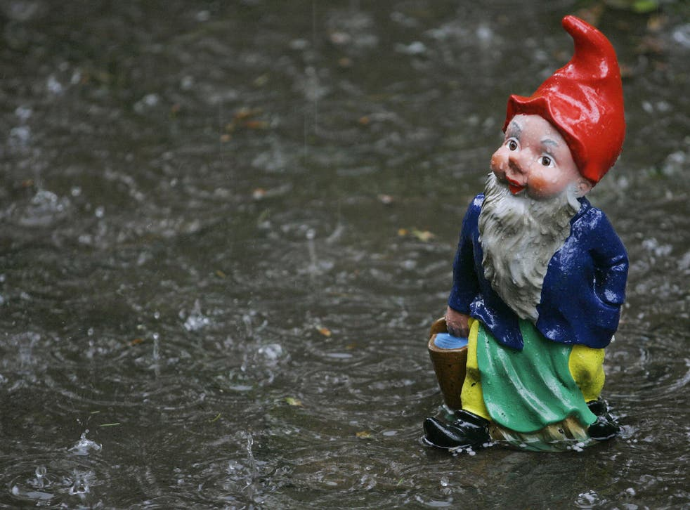 Garden ornaments were among the more commonly stolen items