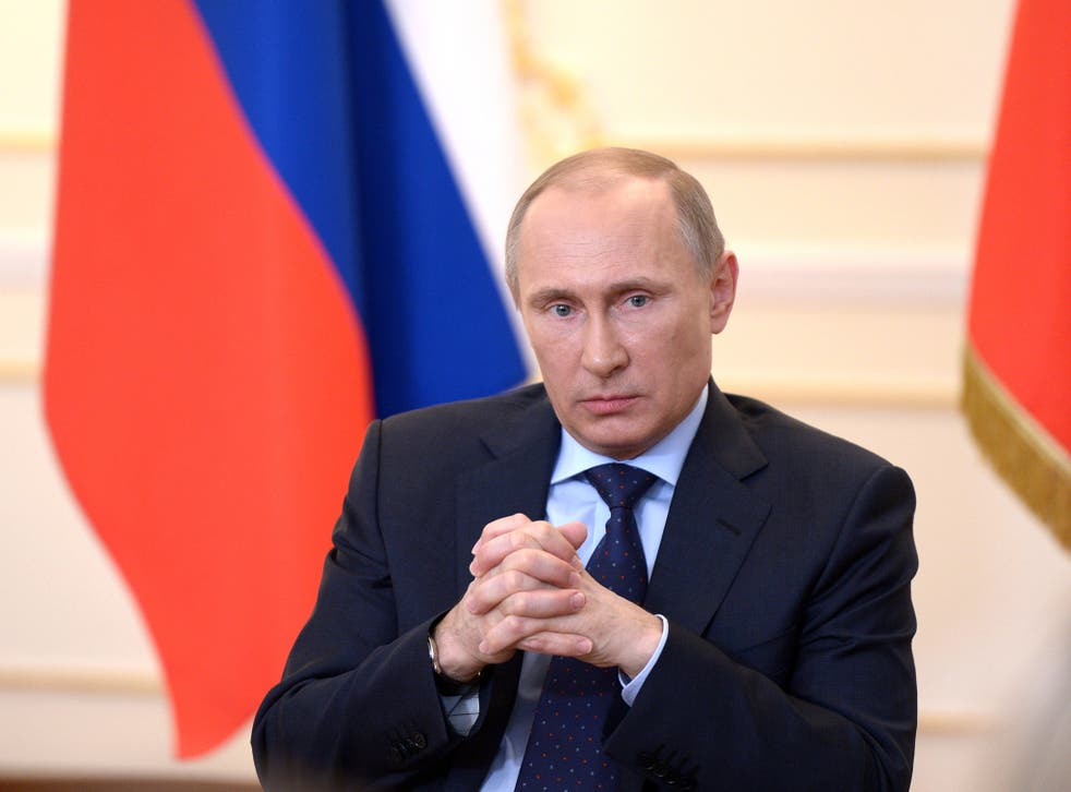Mr Putin said that Russia has been unfairly targeted with sanctions