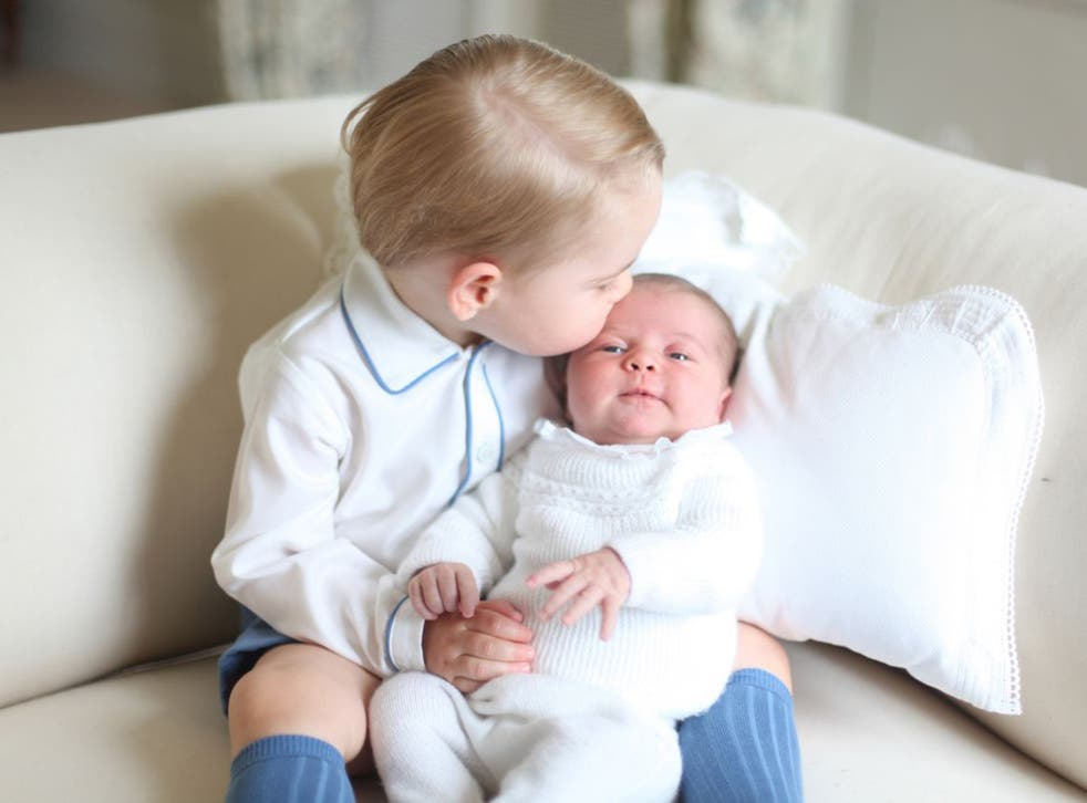 Prince George, who is almost two, will attend the service