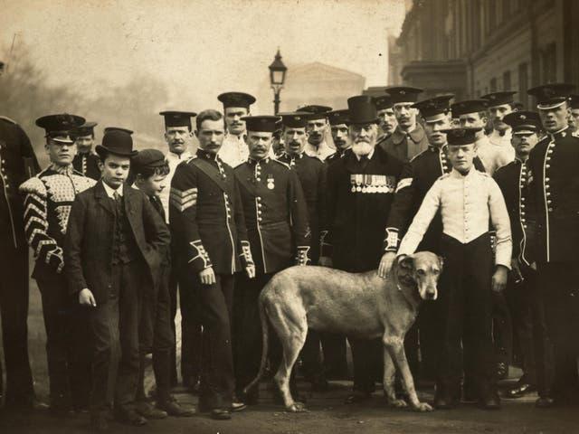 The Irish Guards on St Patrick's Day, 1908