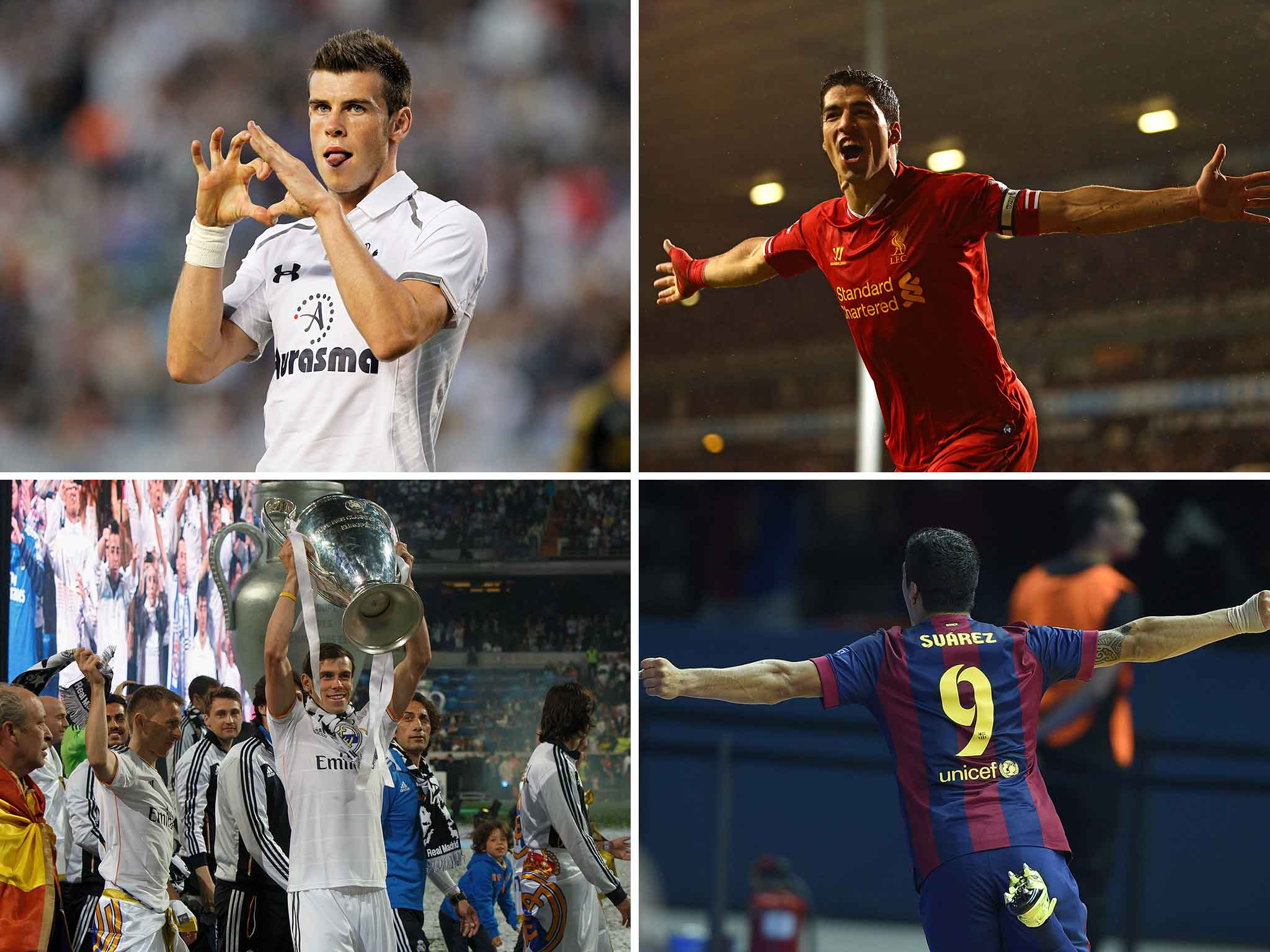 Luis Suarez channels his inner Gareth Bale to win Champions League for Barcelona less than a year after leaving Liverpool
