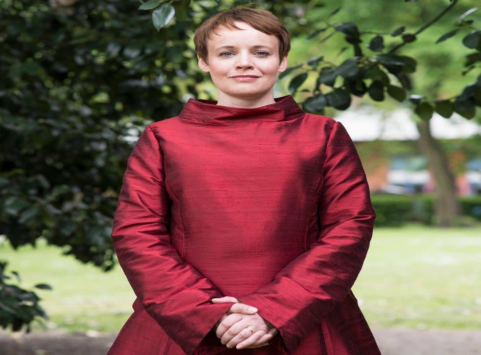 Singing praises: Rachel Nicholls