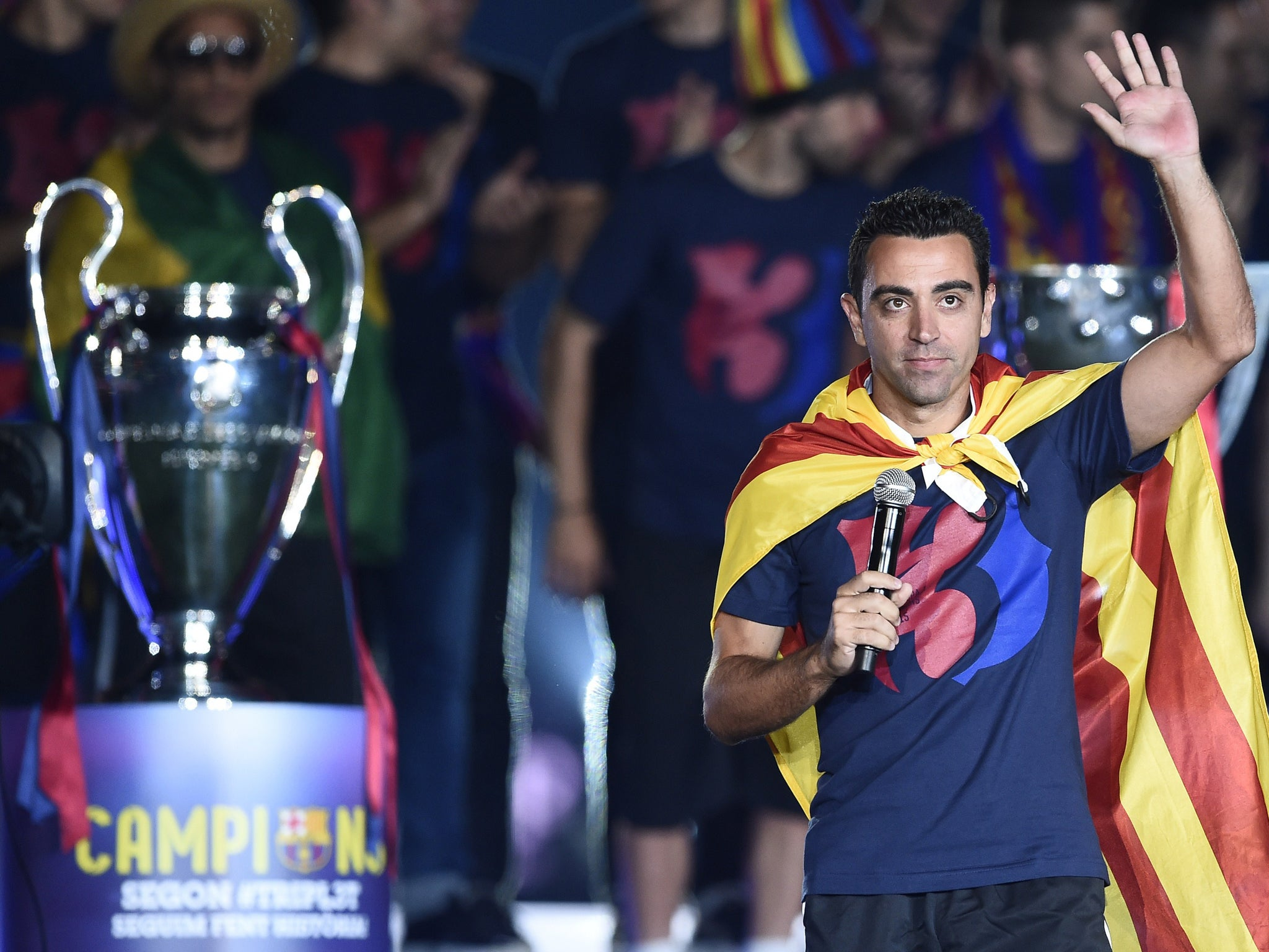 Xavi reveals he shoved Neymar on the Barcelona bus because he