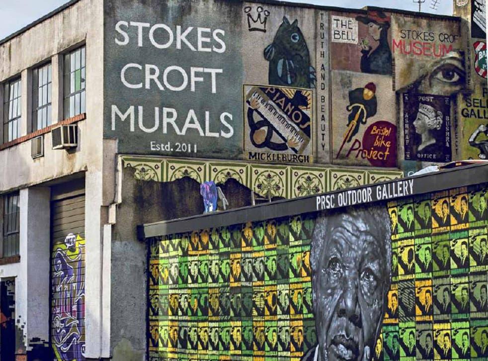 Murals in Stokes Croft