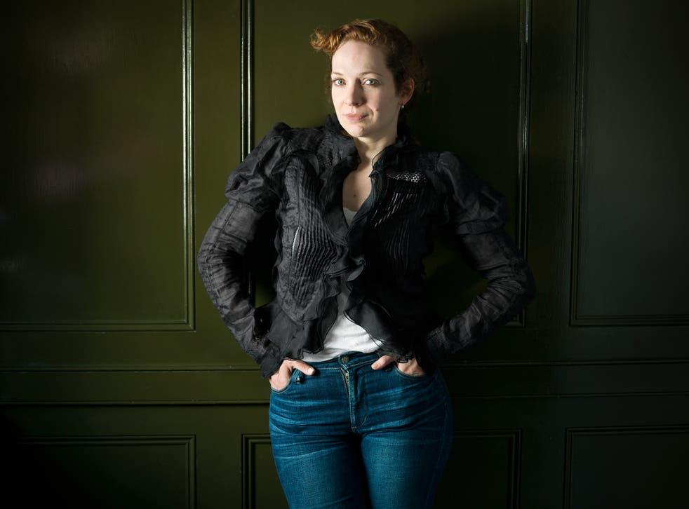 Katherine Parkinson photographed at Quo Vadis, London W1