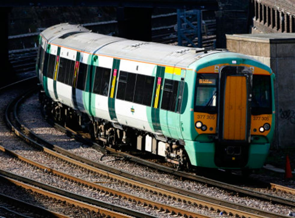 Southern Rail said the ban was for the 'comfort' of other passengers