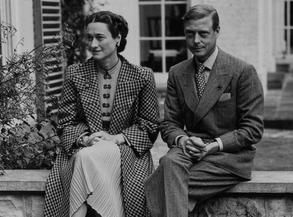 Duke and Duchess of Windsor pictured in 1939.