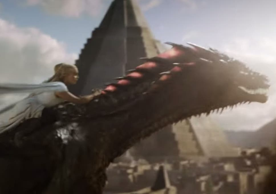 Game Of Thrones Season 5 Daenerys Dragon Ride Sets Twitter On Fire