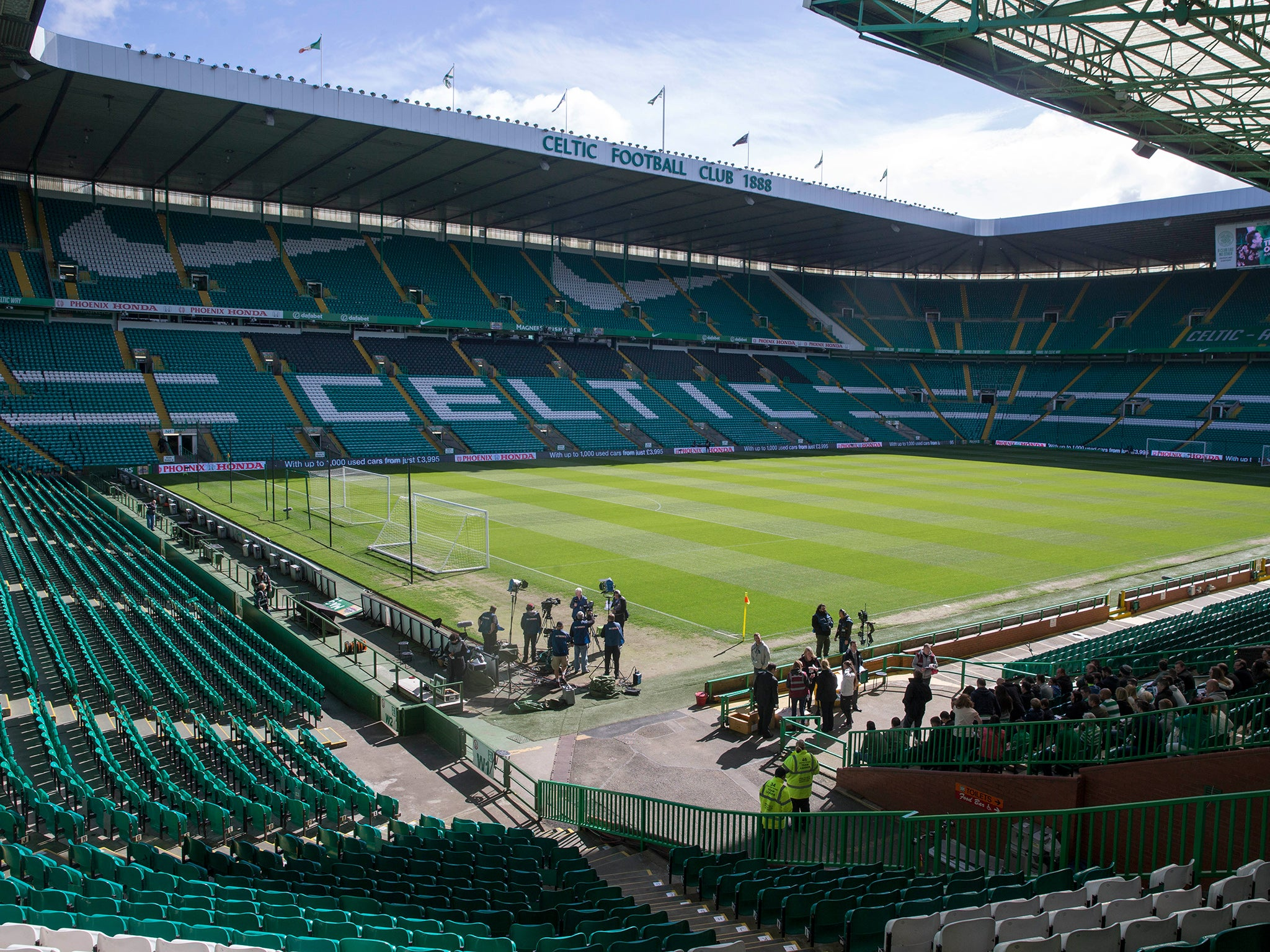 Celtic Have Been Granted A Safe Standing Section At Park
