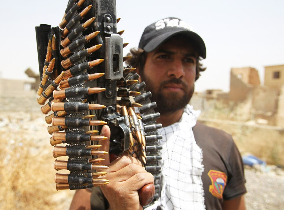 Iraqi Shia fighters recaptured Tikrit from Isis two months ago