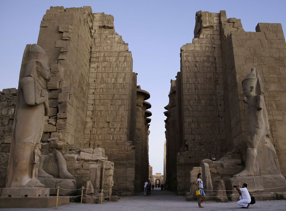 Millions of tourists visit the Temple of Karnak every year