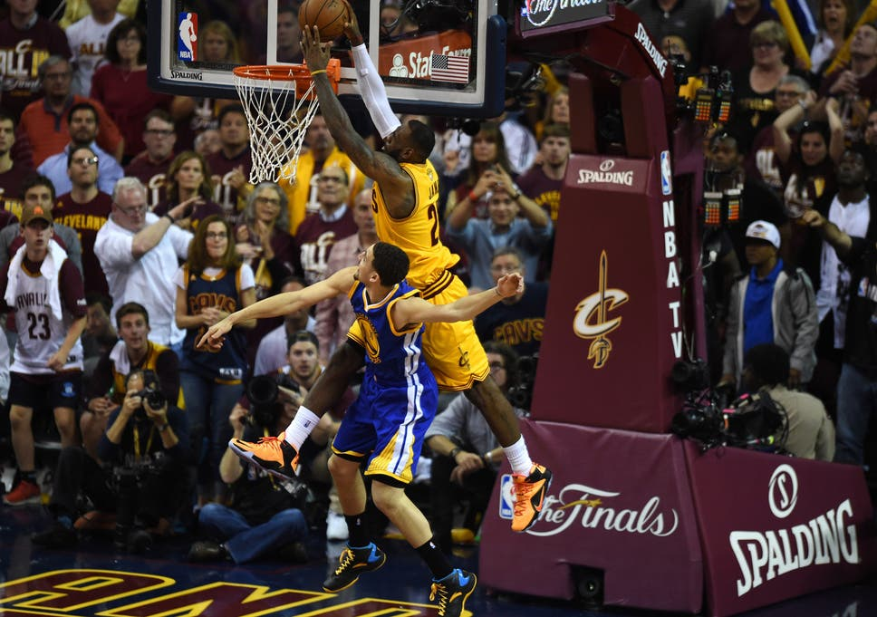 4ee3330051a5 NBA Finals 2015 - Game 3  LeBron James scores 40 as Cleveland Cavaliers take  series lead over the Golden State Warriors