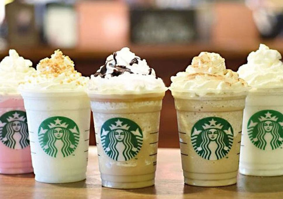 Starbucks' new Frappuccinos contain 'as much sugar as a litre of Coke'    The Independent