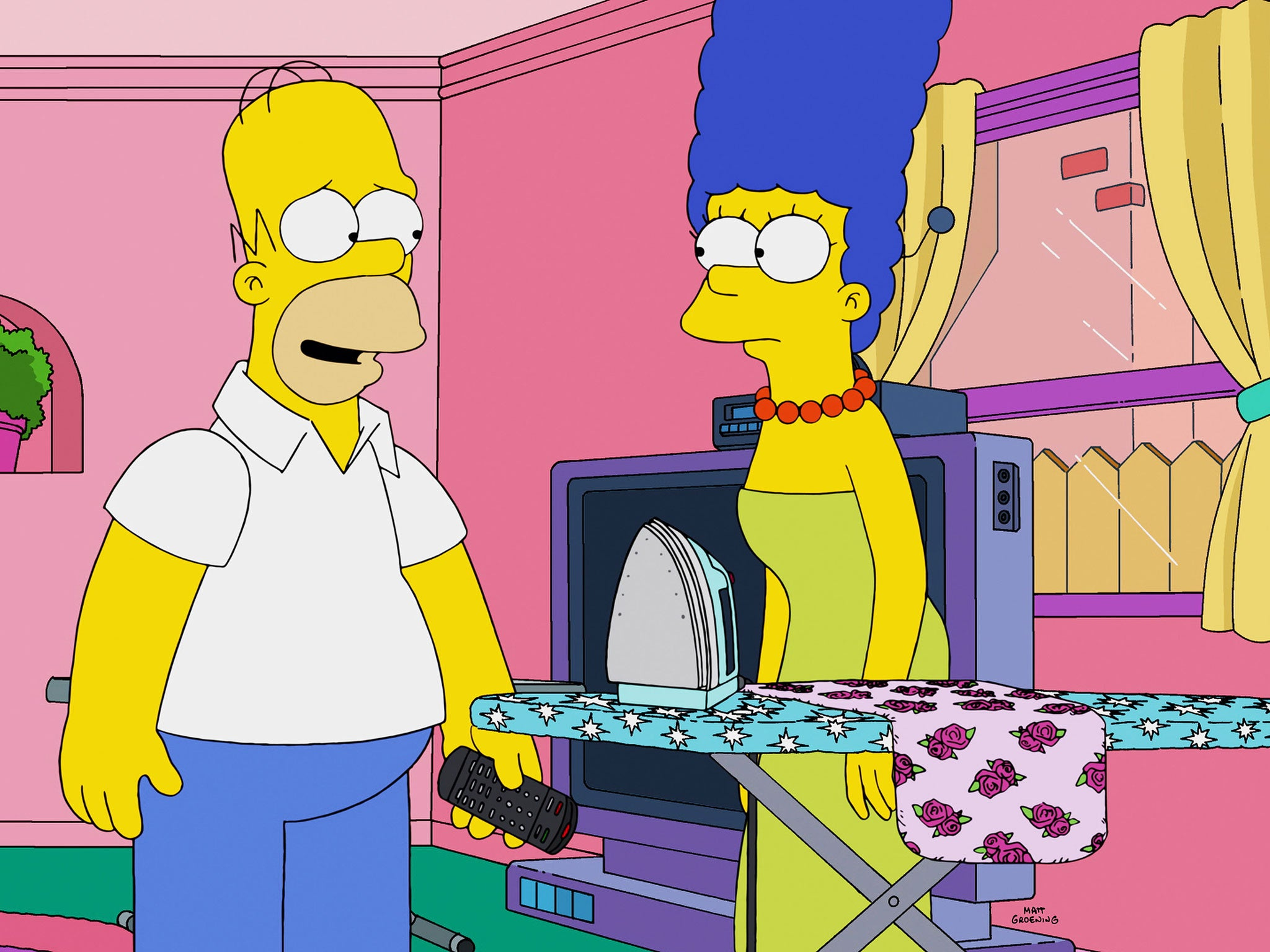 The Simpsons Bart dismisses rumours that Marge and Homer are
