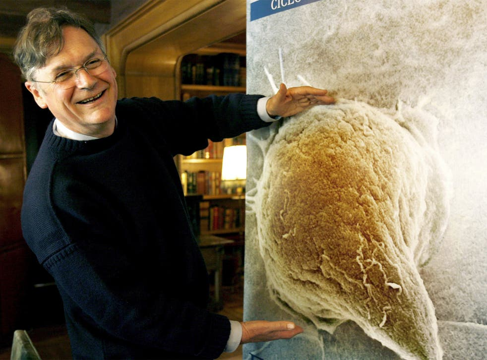 Under the microscope:  Nobel Prize-winning researcher Sir Tim Hunt says he was being ironic