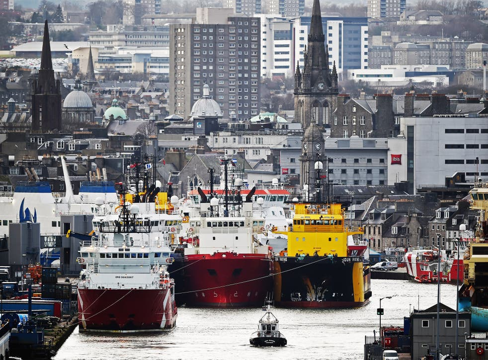 Aberdeen's city council has expressed its concerns over the impact a declining North Sea oil industry could have on the city