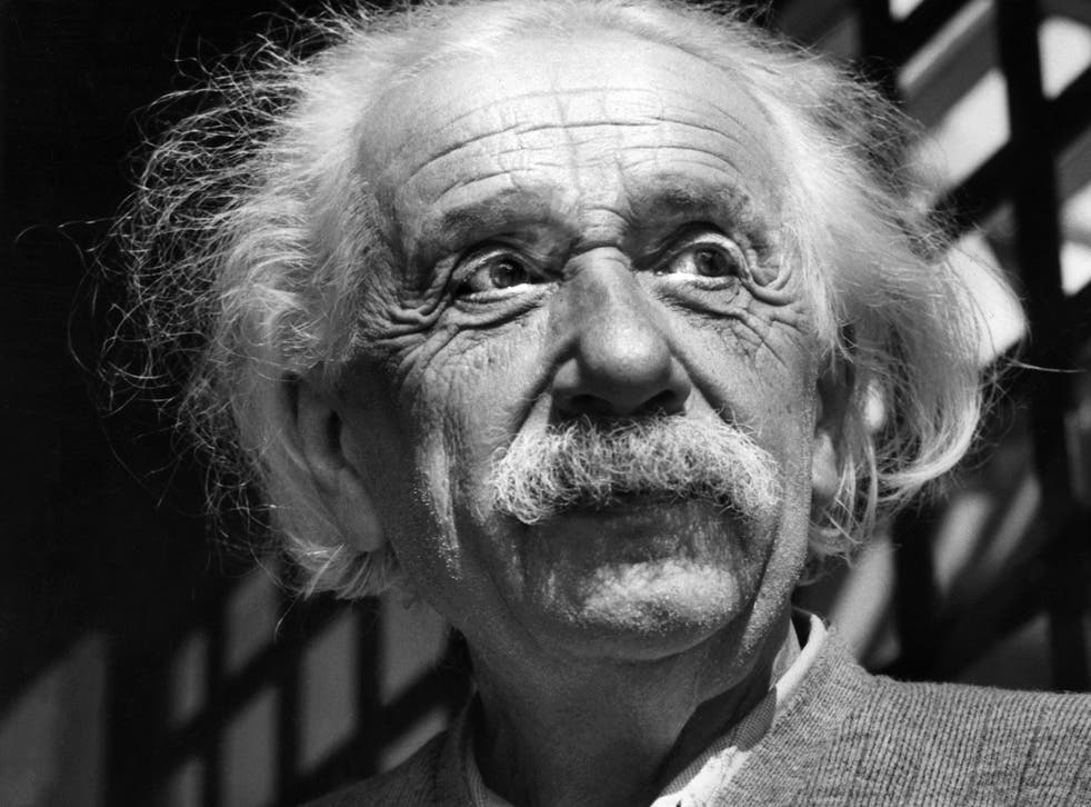 Albert Einstein in 1954 after he moved to the US, where he compared the McCarthy hearings to the rise of Nazism