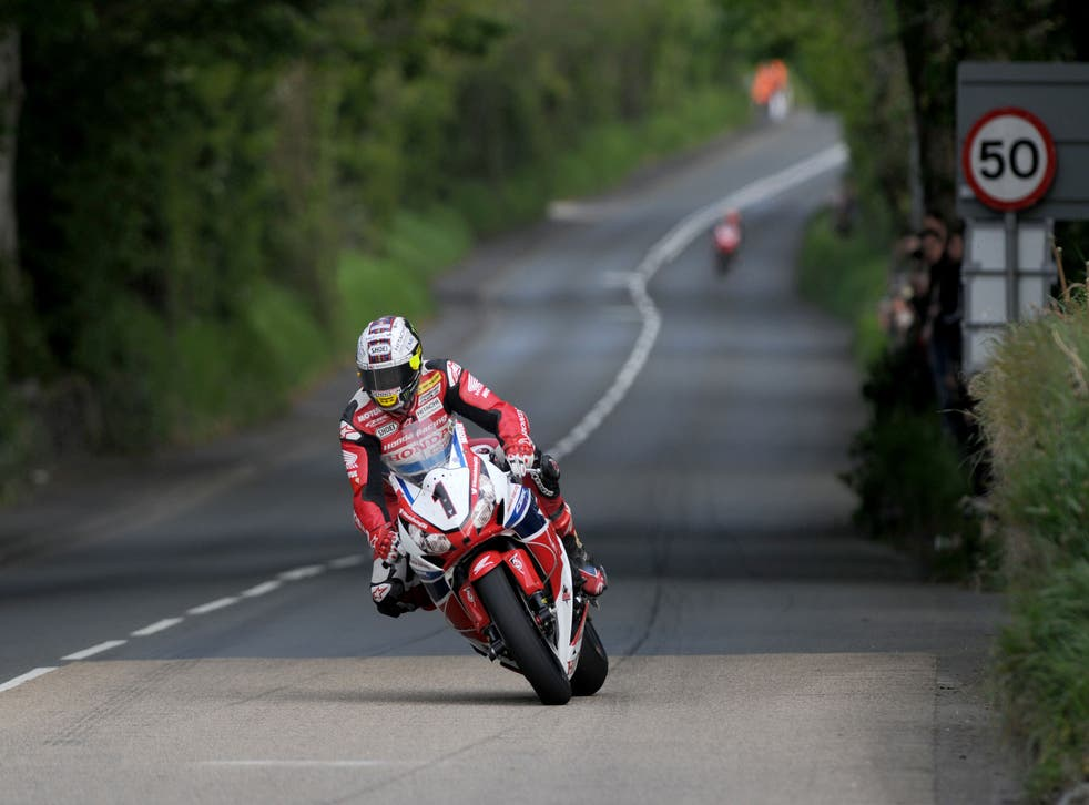 McGuinness finished fourth in Sunday's Superbike race