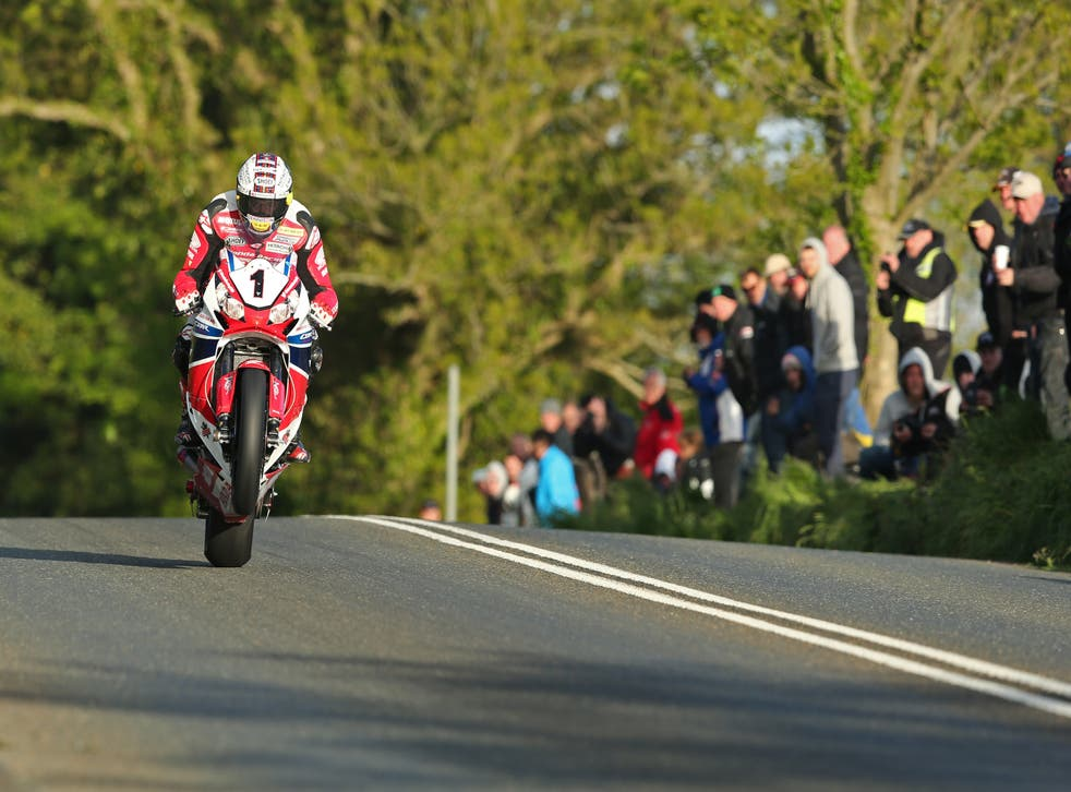Bikes reach speeds of nearly 200 mph during a lap of the TT course