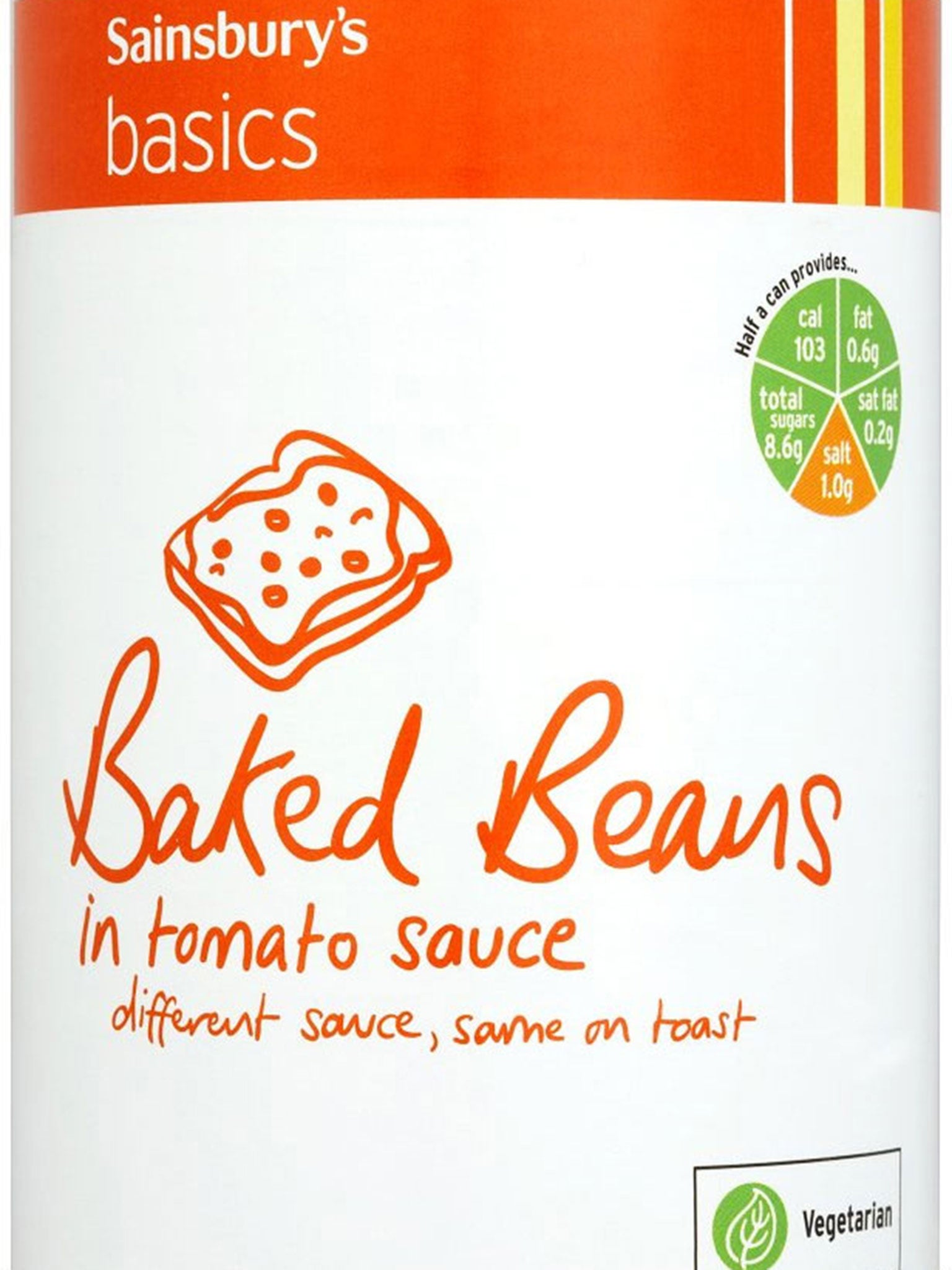Sainsbury\'s Basics range has cornered the market in self-deprecation ...