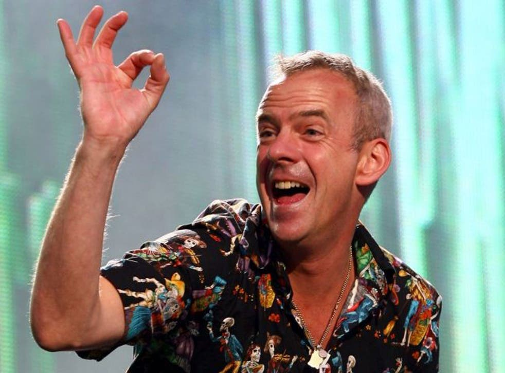 Star turn: DJ Fatboy Slim, aka Norman Cook, used to drop in and play at the magazine's London office