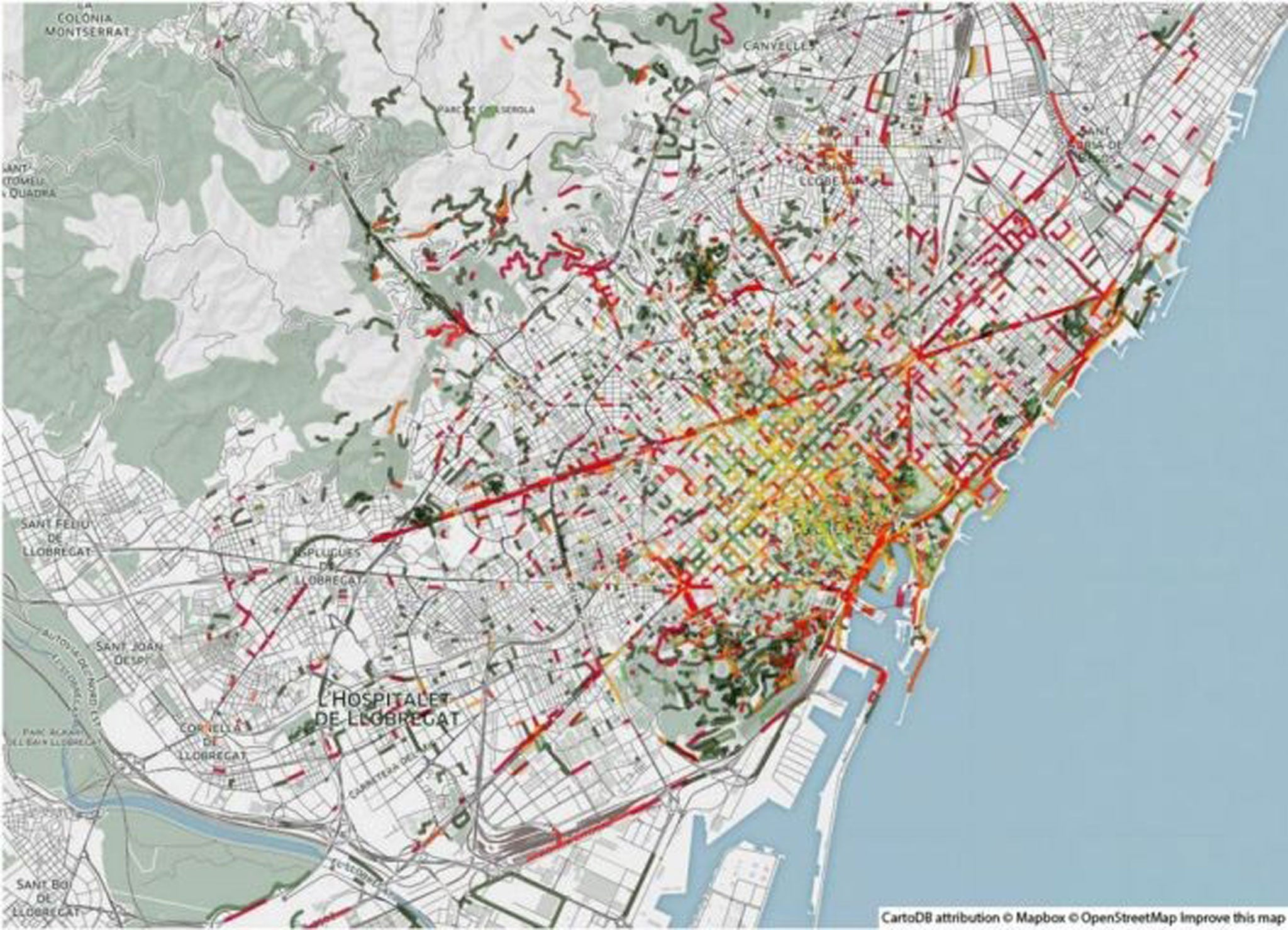Researchers compile 'smell maps' of urban areas using the