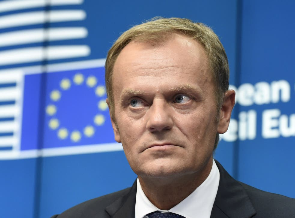 President of the European Council Donald Tusk: 'There's no more time for gambling. The day is coming, I'm afraid, where someone says the game is over'