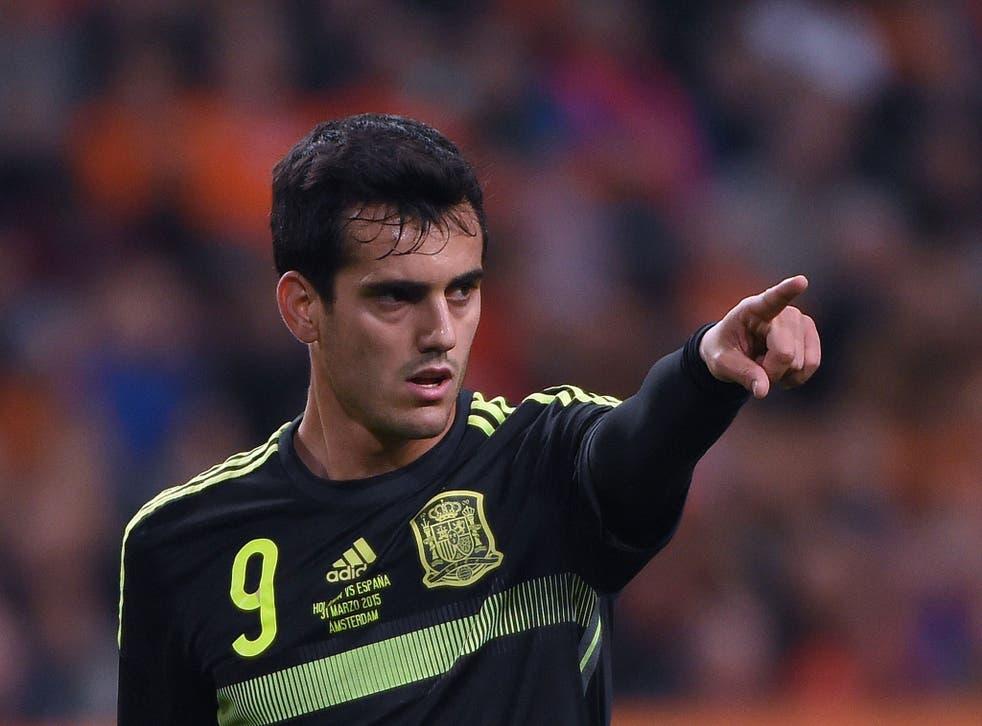 Malaga forward Juanmi
