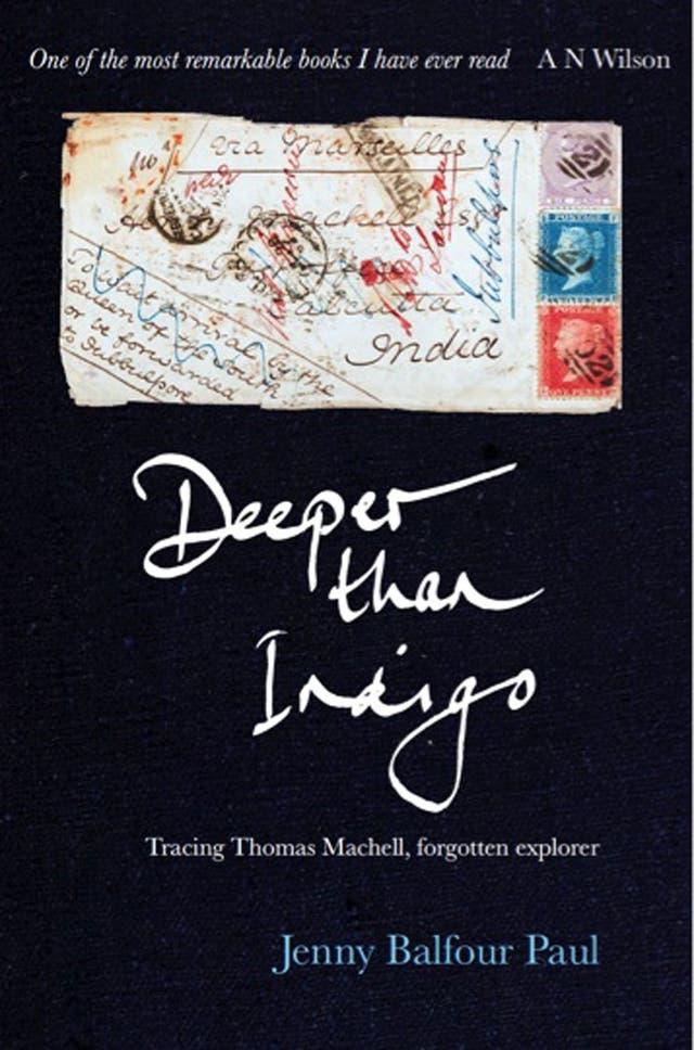 Deeper than Indigo, by Jenny Balfour-Paul