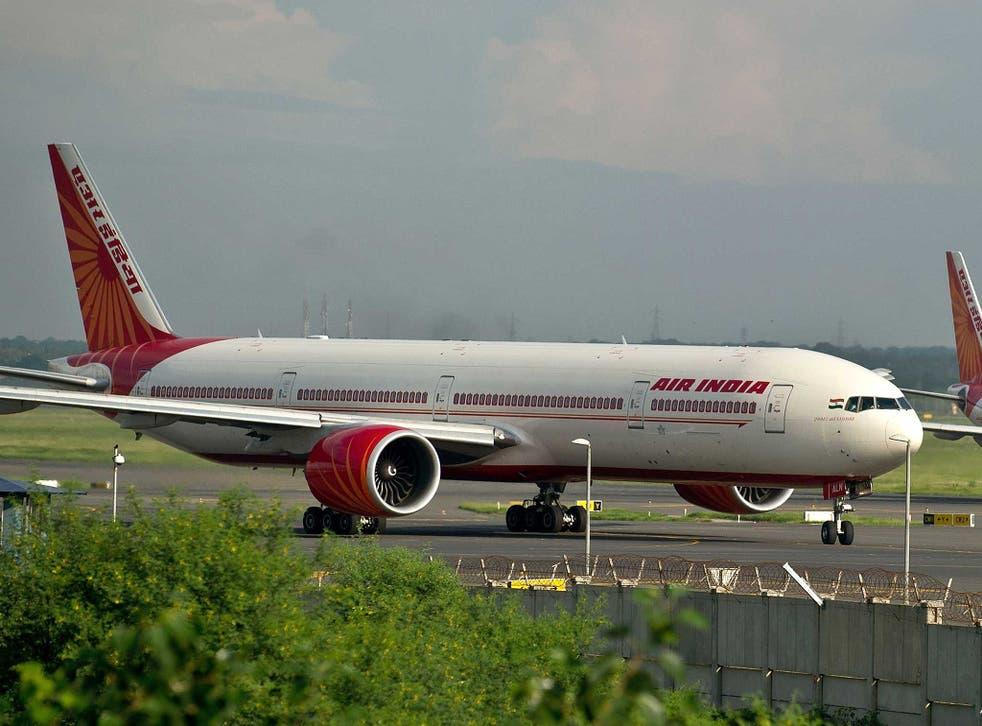 The incident took place at Indira Gandhi International Airport