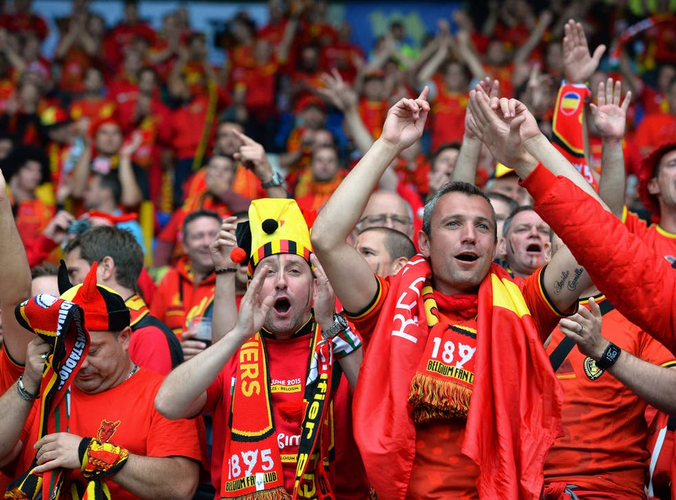 A group of Belgium fans ended up in Wales, South Yorkshire