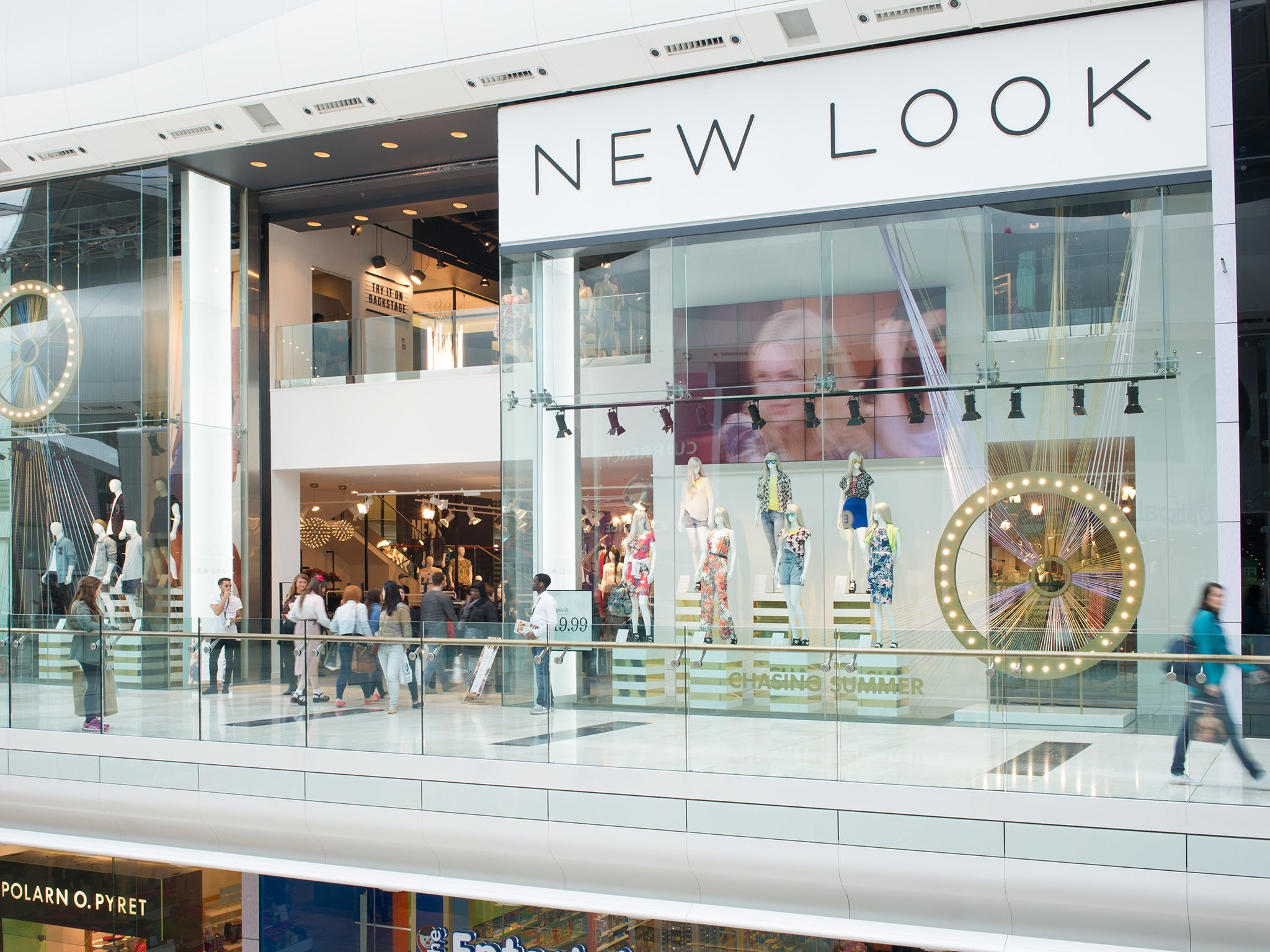 New Look Announces Stores Will Have Separate Entrances For
