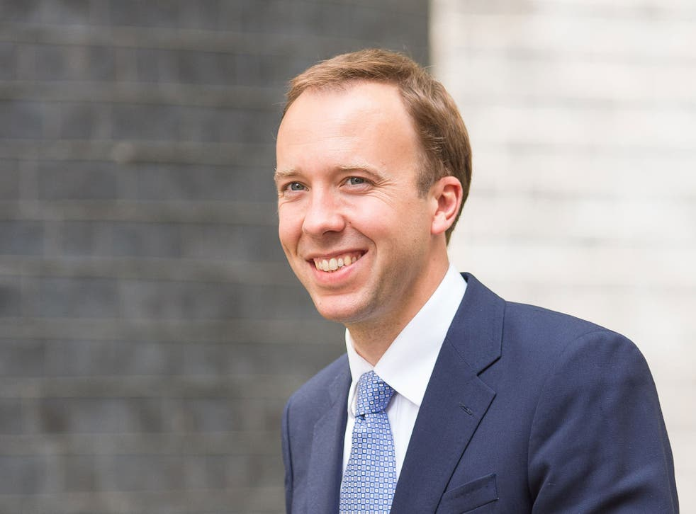 New Culture Secretary Matthew Hancock says he will raise equal pay with the BBC's director general