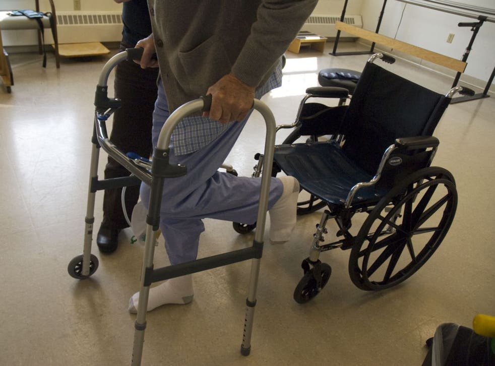 Many wheelchair users are among those who will be affected by the WRAG cuts