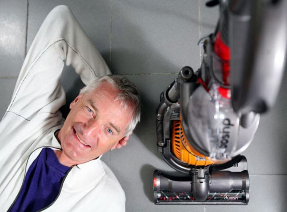 Sir James Dyson has become Britain's best-known entrepreneurial engineer (