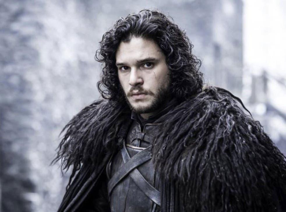 Kit Harington as Jon Snow in the Game of Thrones season 5 finale