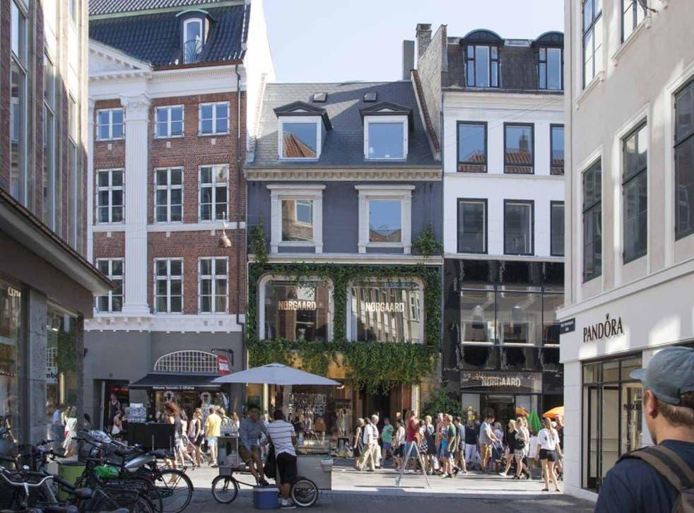 Walk this way: Pedestrianised Stroget