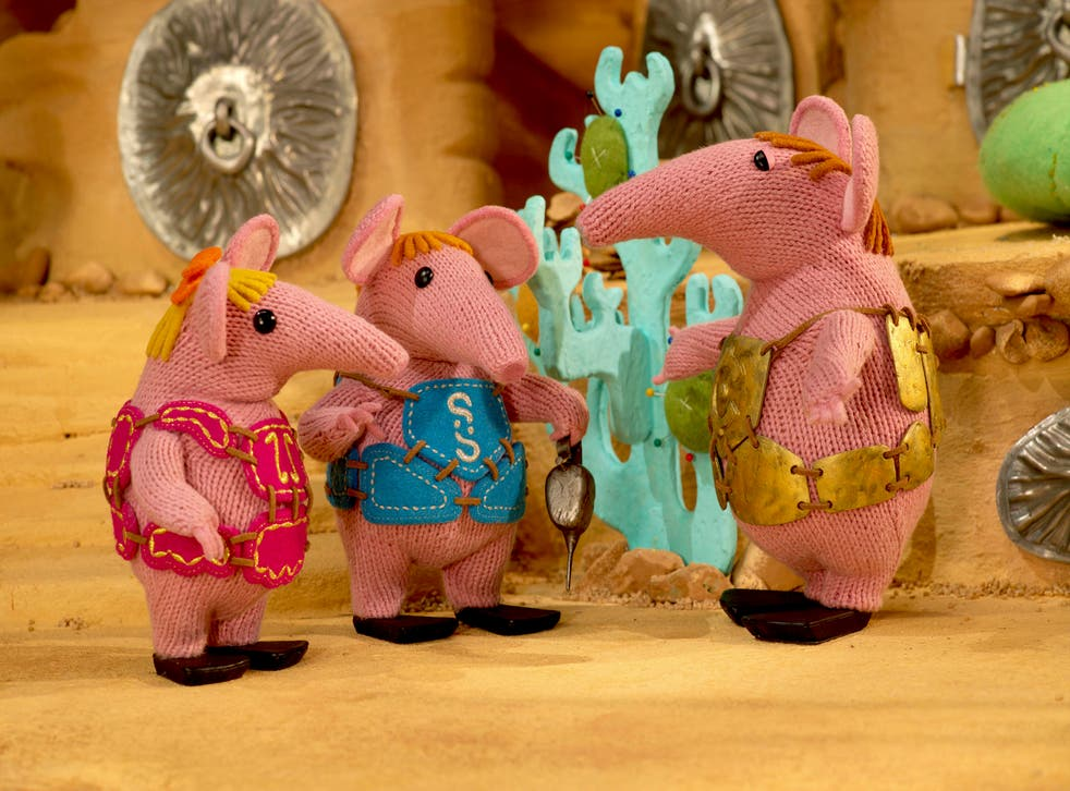 The CBeebies remake of The Clangers