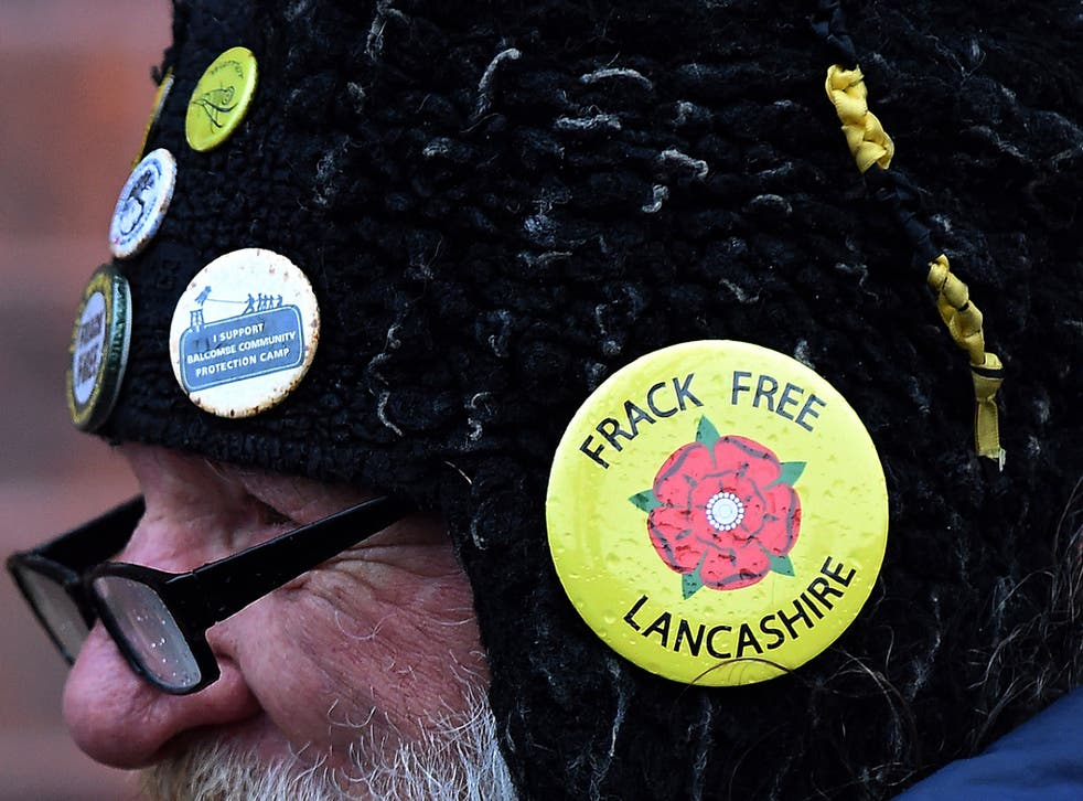 In spite of demonstrations fracking in Lancashire has been given the go ahead by planning officials