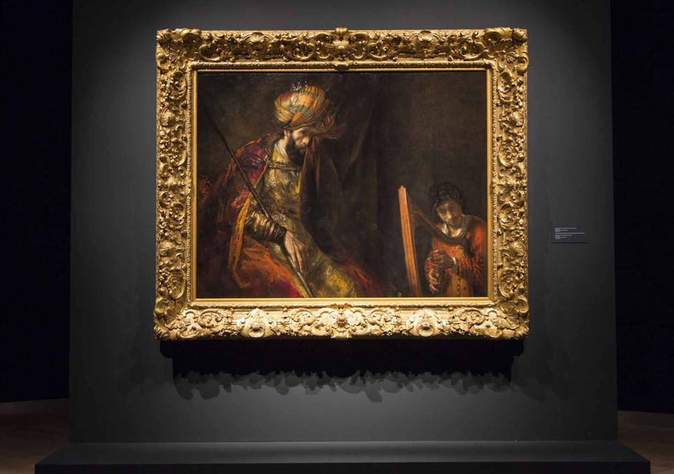 Reuniting Rembrandts Masterpiece The Mystery Of Saul And David