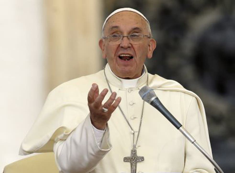 """Pope Francis has warned that the world is heading for """"unprecedented destruction"""" unless mankind confronts climate change"""