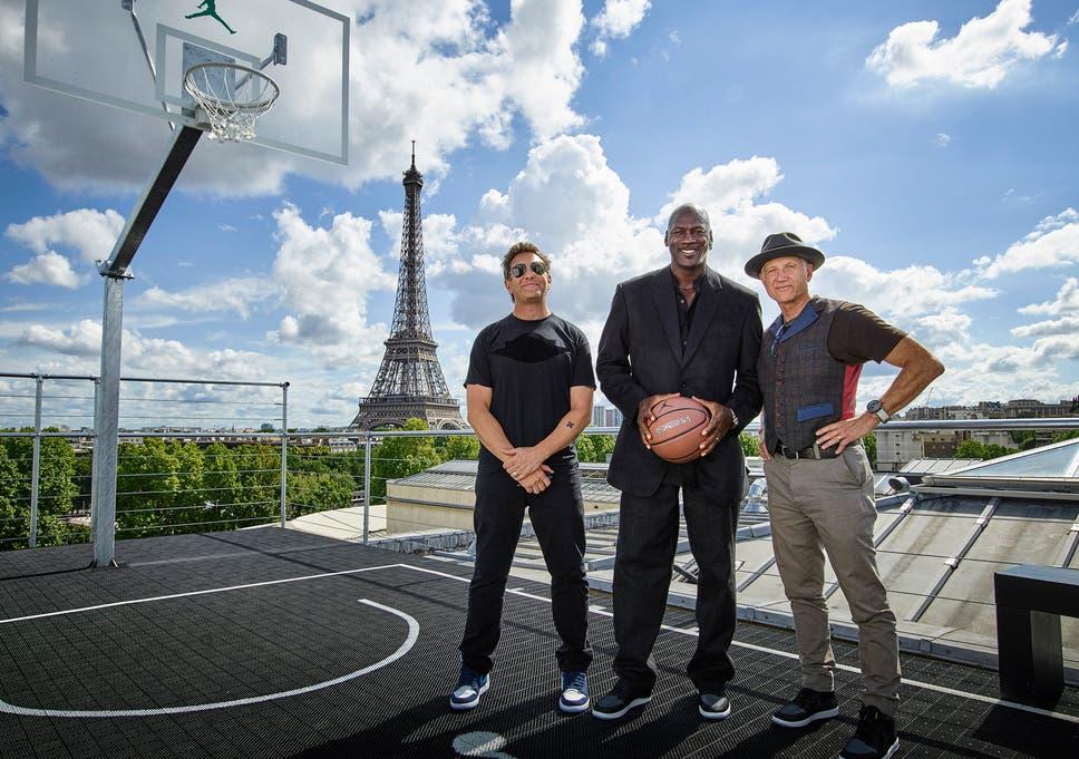 fe3a903a48c Michael Jordan releases 30th anniversary Air Jordan MTM pack in Paris
