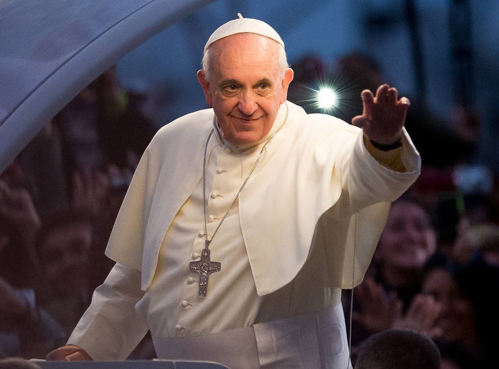 Pope Francis says 'the bulk of global warming' is caused by human activity