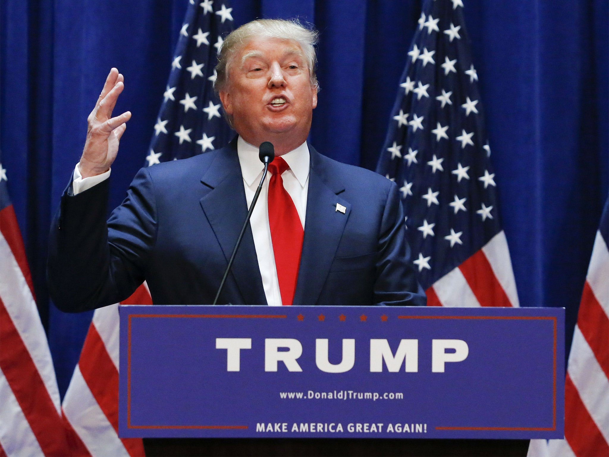 Donald trump presidential candidate thinks his name is for Make america great again wallpaper