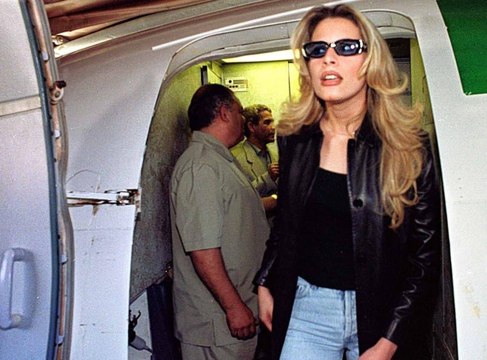 Hot temper: The firestarting Aisha Gaddafi arrives in Baghdad in 2000