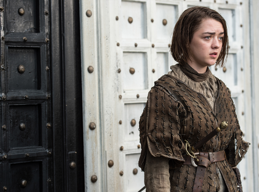 """""""Is there a point to Game of Thrones? And if so, what is it?"""" Arya Stark, played by Maisie Williams, contemplates her options in Braavos"""