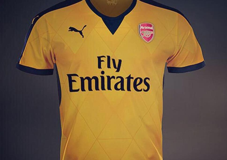 4d2522906 Arsenal 2015 16 away shirt  Kit to be revealed in Singapore today ...